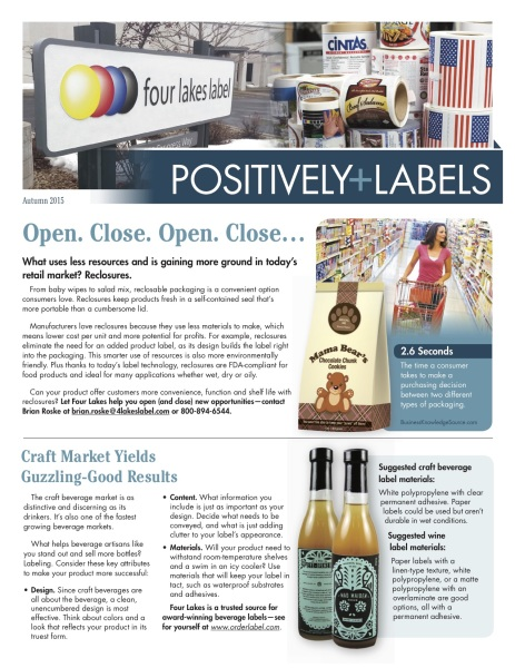 Positively Labels Newsletter